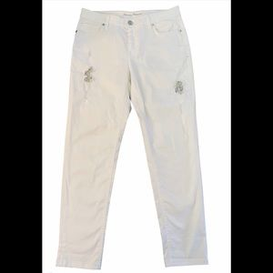 Tommy Bahama Ella Twill Slim Boyfriend Jeans